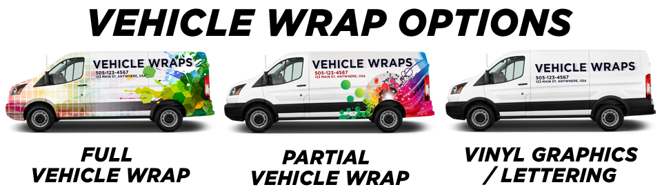 Birmingham Vehicle Wraps & Graphics vehicle wrap options